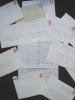 Lot de lettres autographes signées adressées à Claude Ernoult - . LIBERATI (André) -