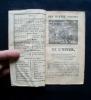 Le bon et nouvel almanach-double, véritable Milan des villes et des campagnes pour l'An de grâce 1847 - . Almanach Milan 1847 -
