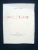Angleterre - . SUARES (André) -