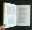 Anthologie de la poésie persane - XIème - XXème siècle - . SAFA (Z.) - LAZARD (G.) - MASSE (H.)-
