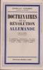 Doctrinaires de la Révolution allemande 1918 - 1938.. VERMEIL (Edmond)