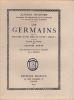 """Les Germains. Histoire d'une idée et d'une  """"race"""". . NICEFORO (Alfredo)"""