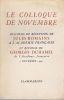 e colloque de novembre. Discours de réception à l'Académie française et réponse de Georges Duhamel. . ROMAINS (Jules)
