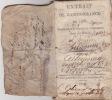Extrait de l'ordonnance de 1768 concernant le service de l'Infanterie dans les places. . ANONYME