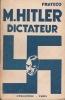M. Hitler, dictateur. . FRATECO