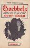 Goebbels, chef de publicité du IIIe Reich. . HOMBOURGER (R.)