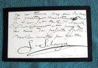 Lettres Autographes Signées de Gaston Salvayre. 3 lettres.. SALVAYRE Gaston