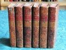 Histoire de la Maison des Stuart sur le Trône d'Angleterre. 6 volumes.. HUME David