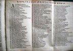 De Romana Republica Sive de Re Militari & Civili Romanorum ad explicandos Scriptores antiquos.. CANTELIO Petro Josepho (CANTEL Joseph )