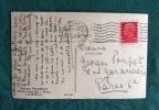 Carte Postale Autographe Signée de François Mauriac et Mimi Pecci Blunt (1935).. MAURIAC François - PECCI BLUNT Mimi