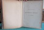 Extrait de l'Art pour tous. Ornements divers. 125 planches. Encyclopédie de l'Art industriel et décoratif.. SAUVAGEOT Claude
