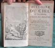 Histoire du Ciel. 2 volumes.. PLUCHE Noël