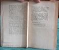 Lettre à M. De La Place auteur du Mercure de France sur un moyen assuré de détruire les courtillières (courtilières). ANONYME