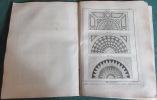 Encyclopédie Diderot et D'Alembert - Recueil de 12 planches de Marbrerie.. DIDEROT - D'ALEMBERT