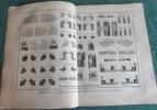 Encyclopédie Diderot et D'Alembert - Recueil de 17 planches de Menuisier en voitures.. DIDEROT - D'ALEMBERT