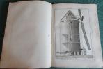 Encyclopédie Diderot et D'Alembert. Recueil de 9 planches de coupe des pierres. DIDEROT - D'ALEMBERT