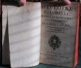 Histoire Naturelle générale et particulière, avec la description du cabinet du Roi - Tome XVI. BUFFON Georges Louis Leclerc de