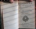 Histoire Naturelle générale et particulière, avec la description du cabinet du Roi - Tome XX. BUFFON Georges Louis Leclerc de