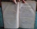 Mémoires du duc de Rovigo pour servir à l'histoire de l'empereur Napoléon - 8 volumes.. DUC DE ROVIGO