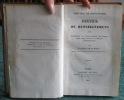 Province de Constantine - recueil de renseignemens (renseignements). DUREAU de LA MALLE