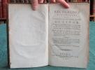 Recherches historiques sur la connoissance que les anciens avoient de l'Inde. ROBERTSON William