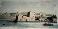 Gravure. Syrie moderne - Entrée du Port de Baïrout.. LEMAITRE direxit