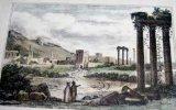 Gravure. Ruines de Balbeck.. ANONYME