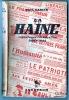 LA HAINE .REPORTAGES CLANDESTINS 1940-1944 .. GARCIN PAUL