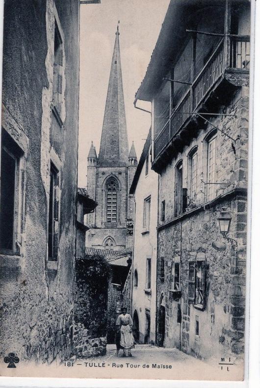 TULLE - RUE TOUR DE MAISSE. Corrèze