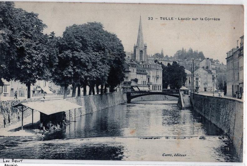 TULLE - LAVOIR SUR LA CORREZE. Corrèze