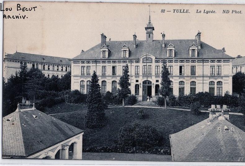 TULLE - LE LYCEE. Corrèze