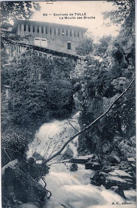 TULLE - LE MOULIN DES BROCHS. Corrèze