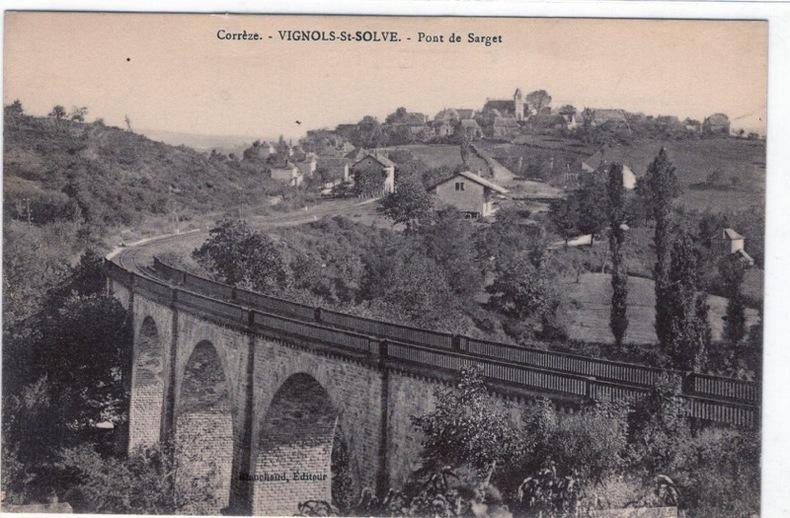 VIGNOLS-ST-SOLVE - PONT DE SARGET. Corréze