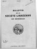 BULLETIN DE LA SOCIÉTÉ LINNEENNE DE BORDEAUX. SOCIÉTÉ LINNEENNE DE BORDEAUX