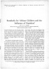 STANDARDS FOR AFRICAN CHILDREN AND THE INFLUENCE OF NUTRITION  - . DEAN R.F.A. -