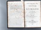 THEORIE MECANIQUE DE LA CHALEUR. CLAUSIUS  R.