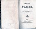 HISTOIRE DE PARIS . TOUCHARD-LAFOSSE  G -