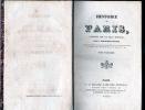 HISTOIRE DE PARIS . TOUCHARD-LAFOSSE  G.