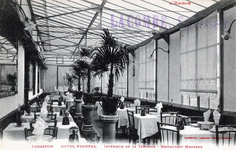 TARASCON - HOTEL FRANCAL . Bouches du Rhône