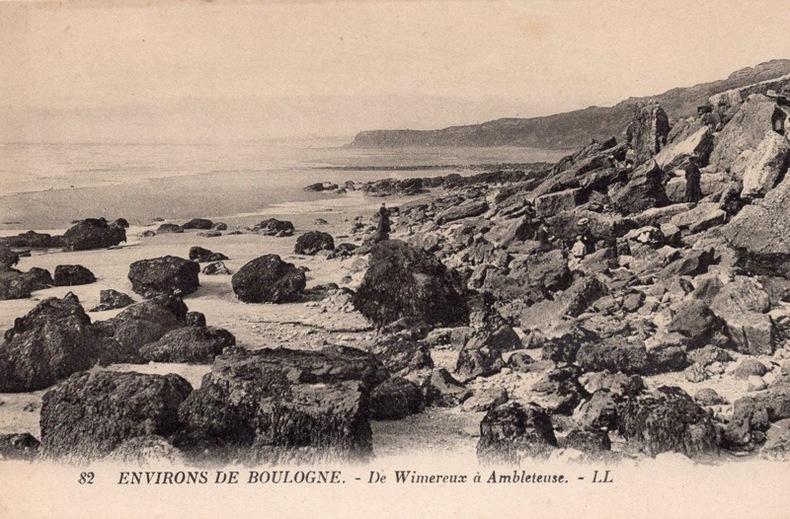 BOULOGNE - ENVIRONS - DE WIMEREUX À AMBLETEUSE . PAS-DE-CALAIS