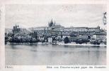 PRAG.Blick vom Kreuzherrenplatz gegen den Hradschin. Prague