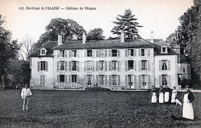 FALAISE - Château de Vicques. Calvados