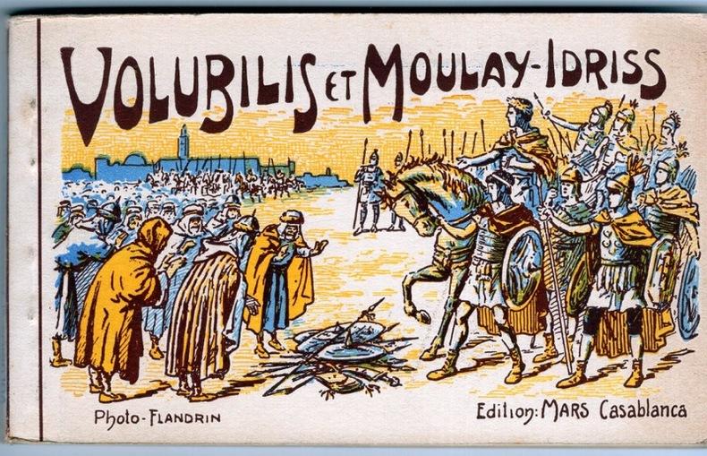 VOLUBILIS et Moulay-Idriss , . Maroc