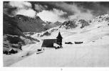 Das alte Aroser-Bergkirchlein,. Suisse