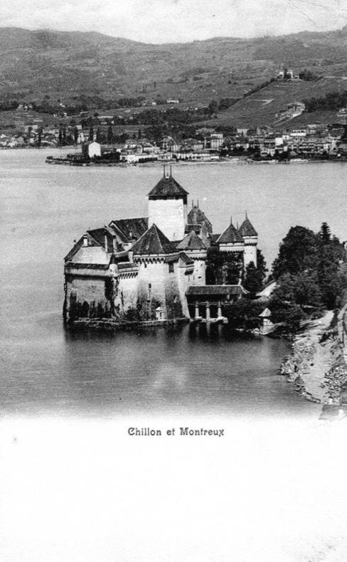 Chillon et Montreux,  . Suisse.