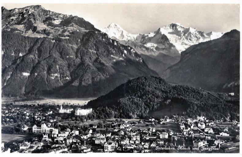 INTERLAKEN. Monch und Jungfrau,. Suisse
