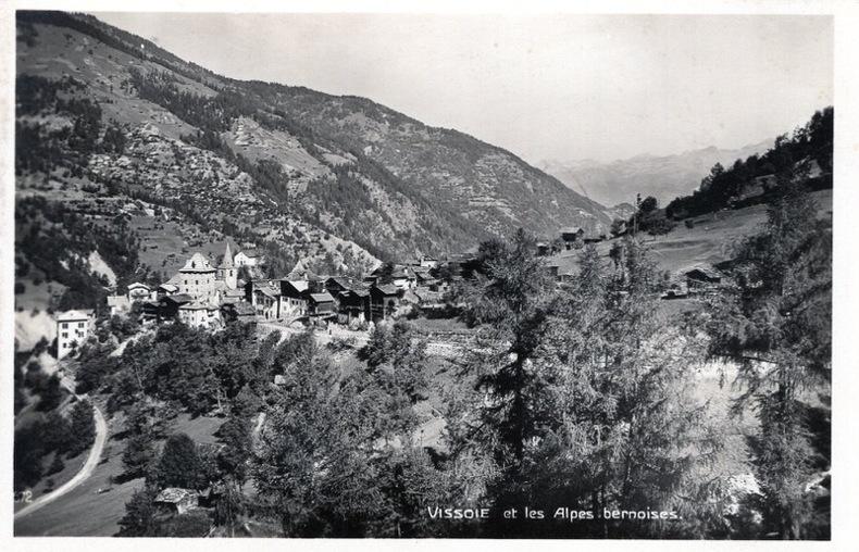 VISSOIE et les Alpes bernoises . . Suisse
