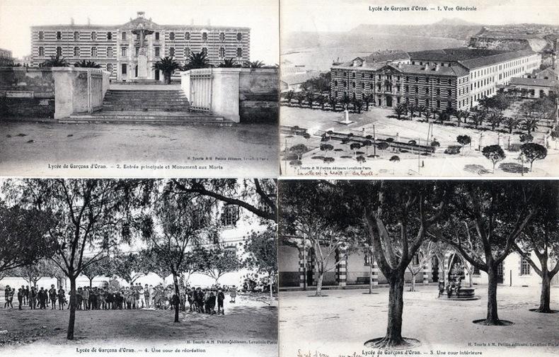 LYCEE DE GARÇONS D'ORAN . Algérie