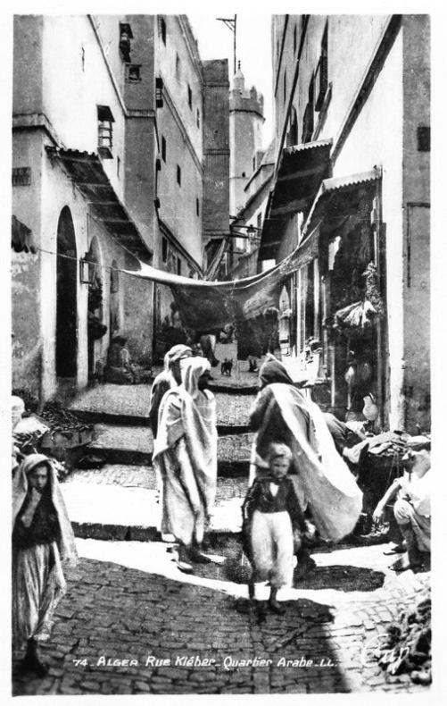 ALGER , rue Kleber .. Algérie