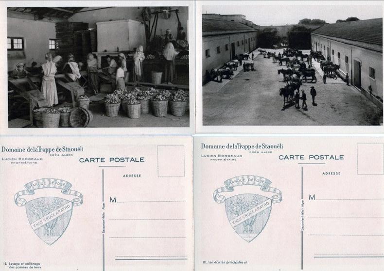DOMAINE de la Trappe de Staoueli .. Algérie